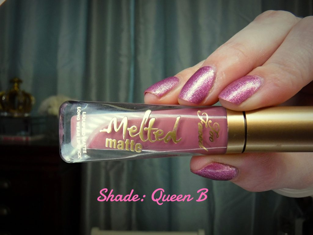 Too Faced Melted Matte Long Lasting Lipstick Review