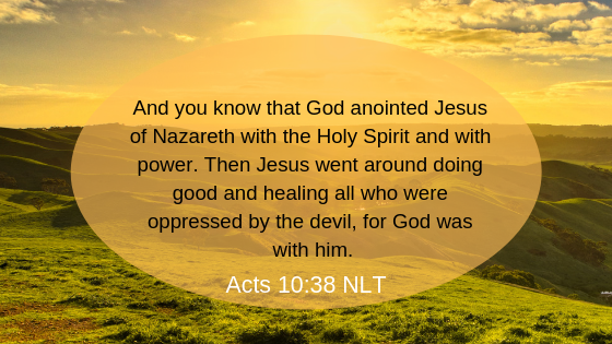 Acts 10:38 Verse For Healing