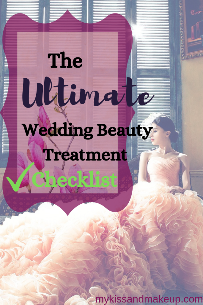 Wedding Beauty Treatment Checklist
